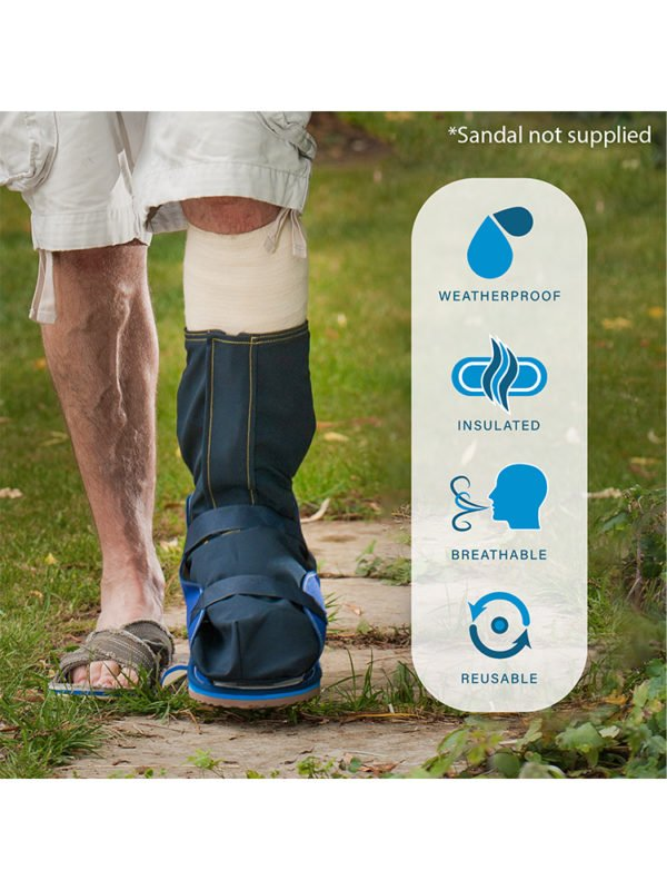 The listed features of the Outcast Foot Outdoor Weather Protector