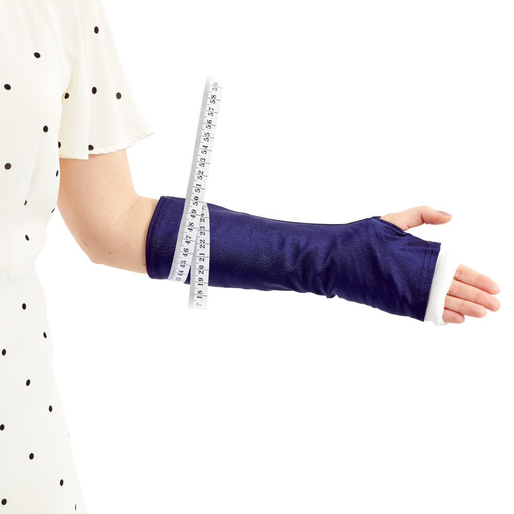 Measuring guide for a LimbO Arm Cast Sleeve
